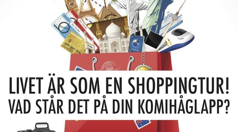 Livet är som en shoppingtur